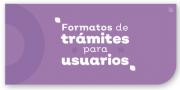 Formatos de Tramites para Usuarios