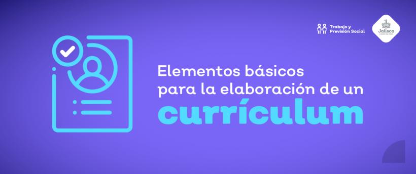 Elementos Básicos para tu curriculum